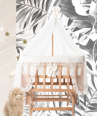 babywiegje babyrace - co sleeper hout - babywieg aan bed - babywieg naast bed - inspiratie babykamer - wiegje van BabyRace - schommelwieg - schommelwiegje