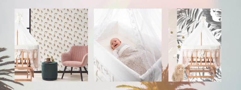 Co sleeper wieg BabyRace - babywiegjes - inspiratie babykamer - schommelwieg