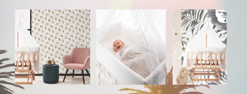Co sleeper wieg BabyRace - babywiegjes - inspiratie babykamer
