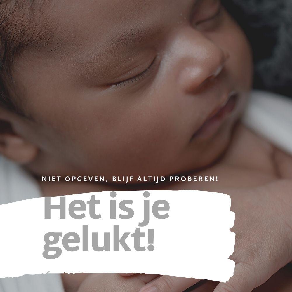 Wieg voor Huilbaby - Veilig slapen - van slaapkamer naar babykamer - blijf proberen - Babywiegjes BabyRace