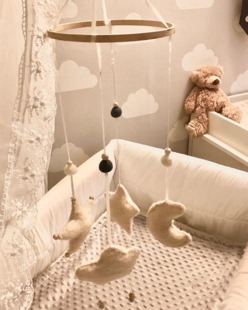 baby mobiel, hemelse babymobielen, accessoire babykamer