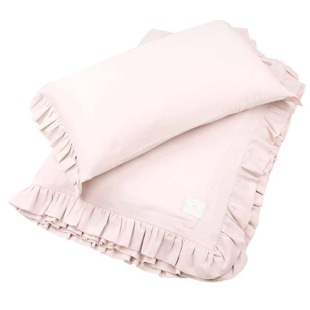 beddengoed junior - licht roze - cotton and sweets - babyrace