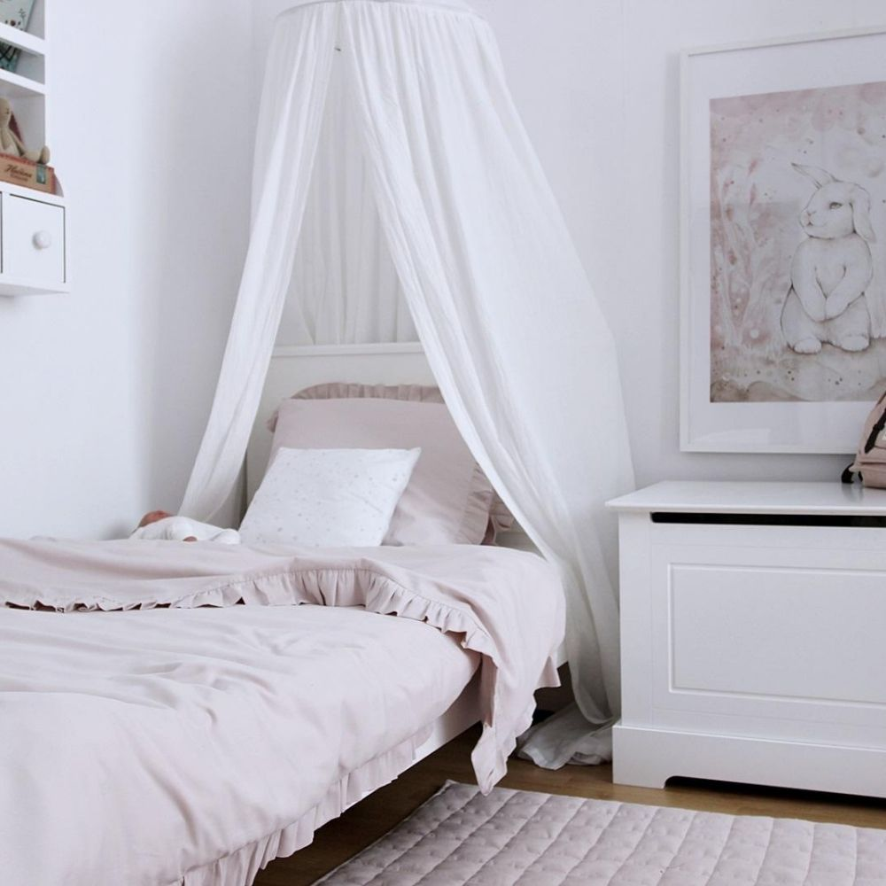 junior beddengoed bruin - cotton and sweets - babyrace