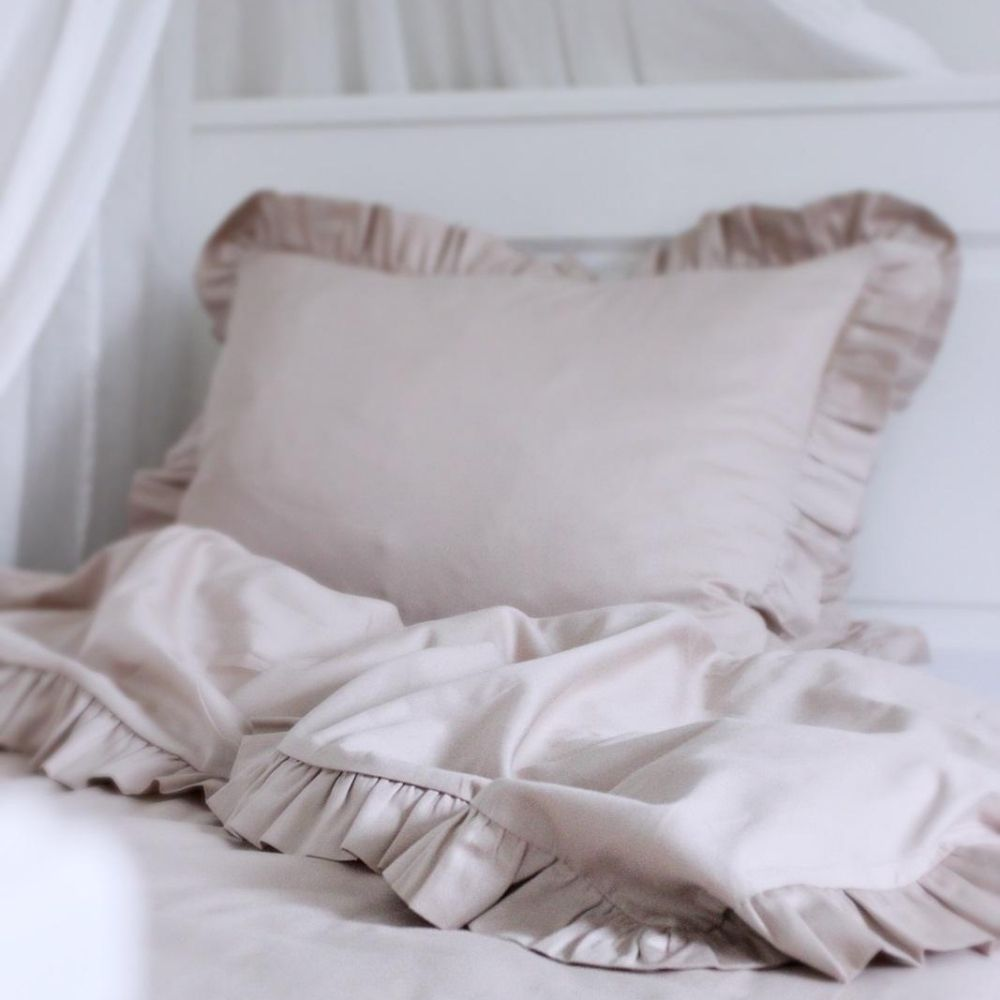 junior beddengoed nude - cotton and sweets - babyrace