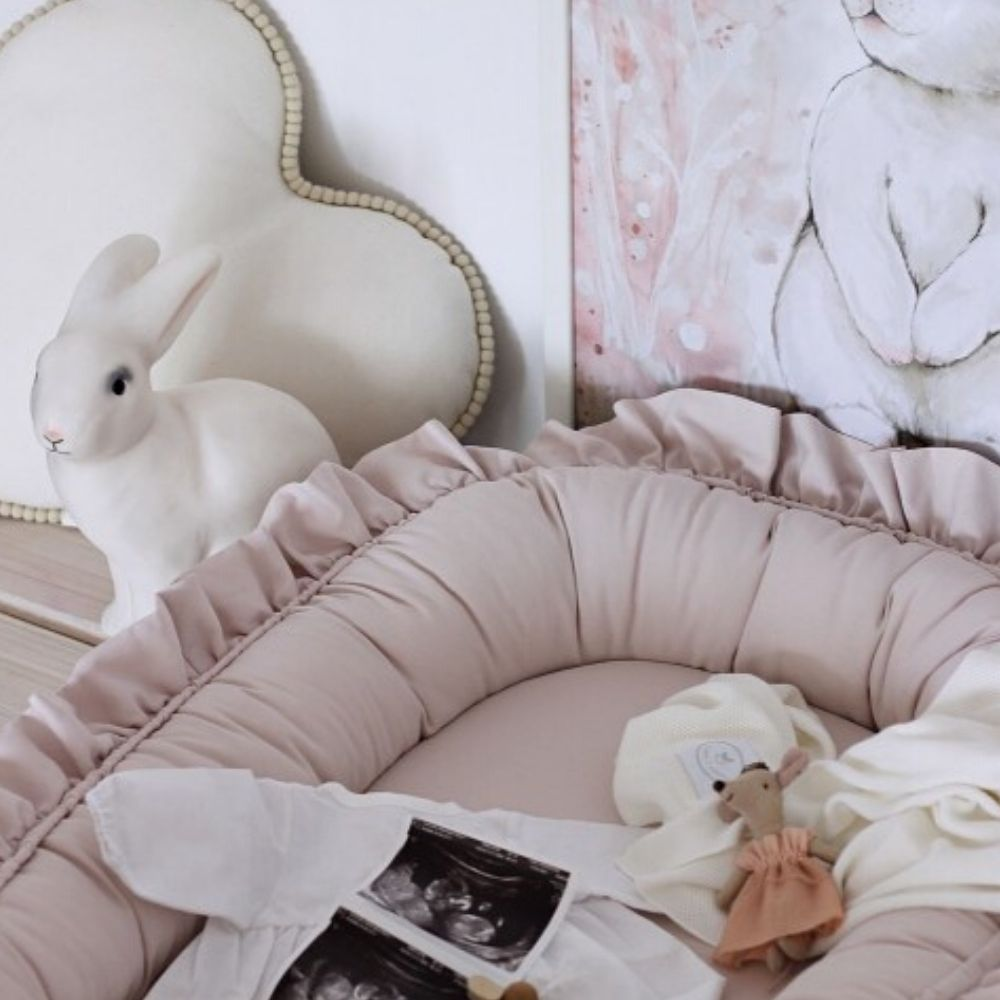 babynestjes met ruffels - Cotton and Sweets - BabyRace