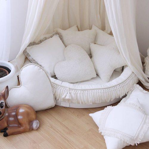 boho collectie Cotton and Sweets - voorleeshoek boho babykamer