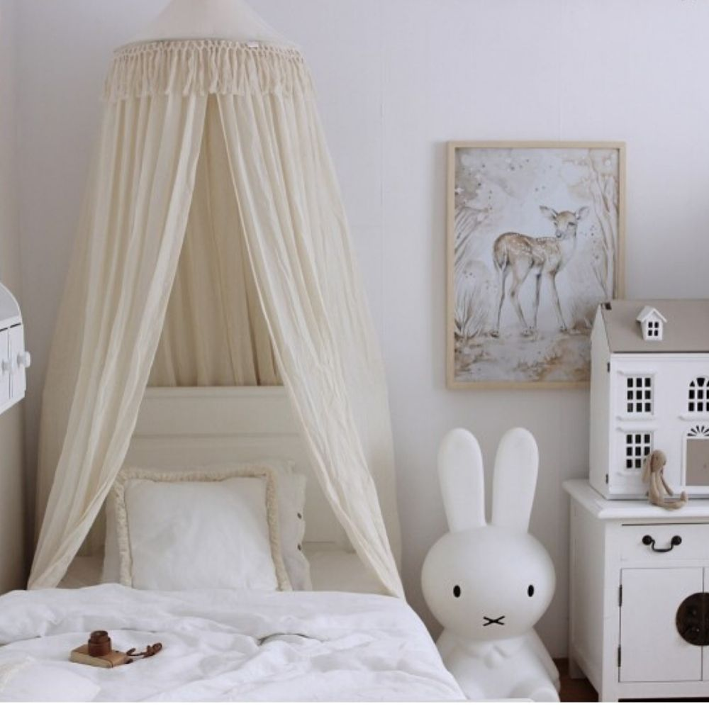 boho hemeltje in kinderkamer - cotton and sweets - babyrace
