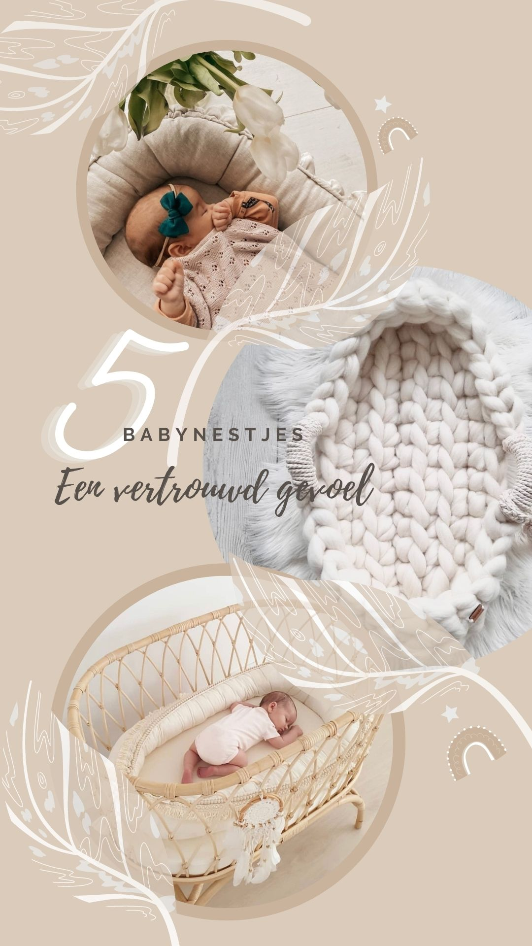 5+ babynestjes | Vertrouwd gevoel voor baby