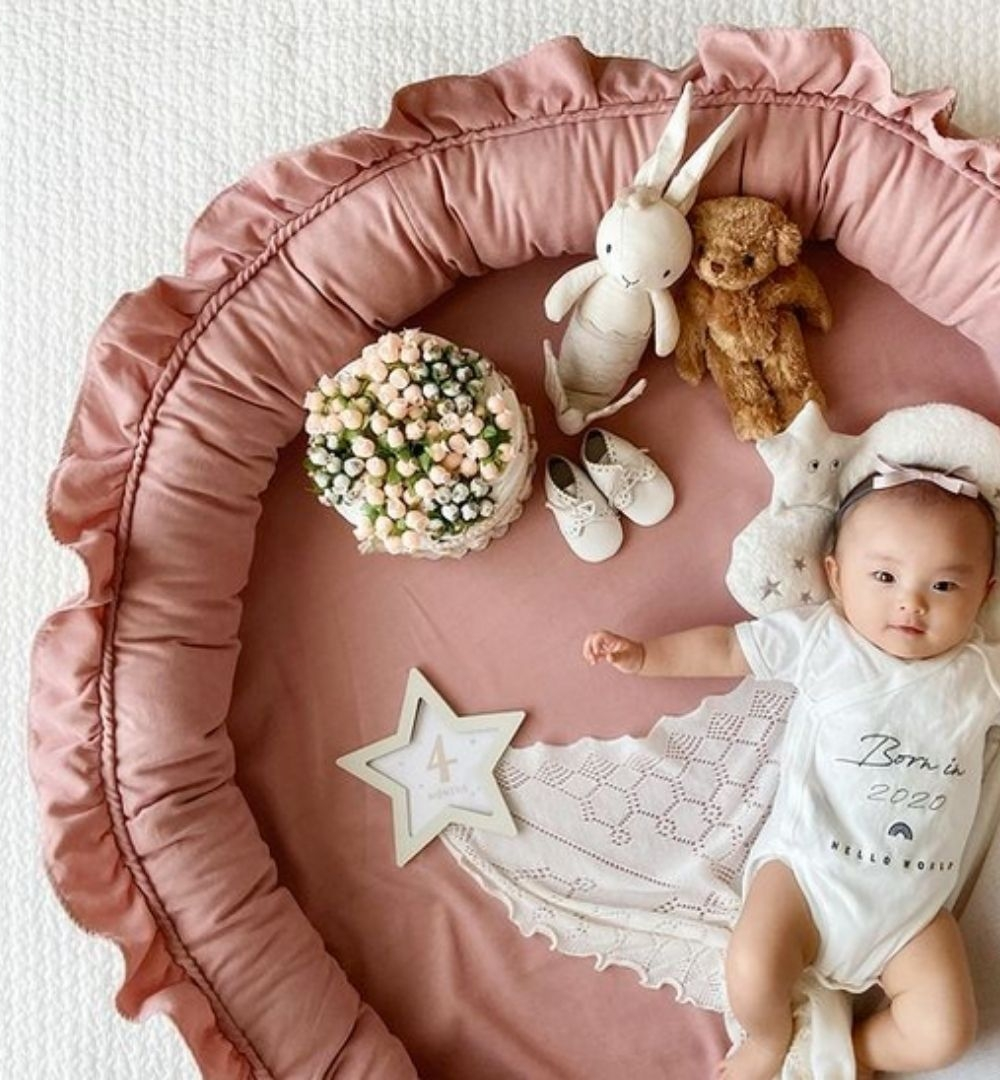 roze juniornestje cotton and sweets